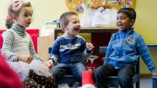 Audio «Müssen fremdsprachige Kinder vor dem Kindergarten Deutsch lernen?» abspielen