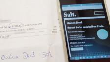 Audio «Online-Deal von Salt: Handyabo ist plötzlich doppelt so teuer» abspielen