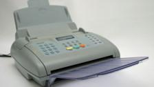 Audio «Der Fax ist (noch) nicht tot» abspielen