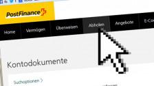 Audio «Bei der Postfinance kann ein E-Bankbeleg teuer werden» abspielen