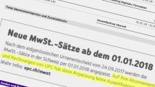 Audio «Telecom-Firmen geben Mehrwertsteuer-Senkung nicht weiter» abspielen.