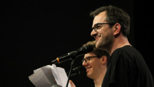 Audio «Poetry Slam Schweizermeisterschaft 2018: Das Team-Final!» abspielen