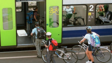 Audio «Mit dem Velo in den Zug: Stress vermeiden mit guter Planung» abspielen