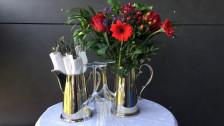 Audio «Wie aus einer alten Kaffeekanne eine originelle Blumenvase wird» abspielen.