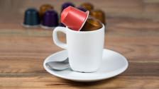 Audio «Kaffee-Kapseln: Was ist besser für die Umwelt Plastik oder Alu?» abspielen