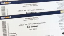 Audio «Viagogo zahlt Ed-Sheeran-Fans Geld zurück» abspielen