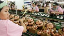 Audio «Schlimme Zustände in chinesischen Spielzeugfabriken» abspielen
