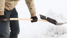 Audio «Darf man Schnee auf die Strasse schaufeln?» abspielen