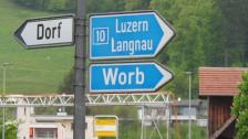 Audio «Mann, ich will nach Worb!» abspielen