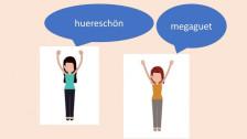 Audio «Huere, choge, rüüdig: was unsere Sprache stärker macht» abspielen