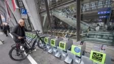 Audio «Gebührenpflichtige Veloständer am Bahnhof werden kaum genutzt» abspielen.