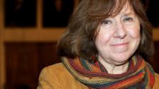 Audio «Literaturnobelpreis 2015 für Swetlana Alexijewitsch» abspielen