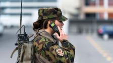 Audio «Frauen in den Zivildienst oder gar in die allgemeine Wehrpflicht?» abspielen