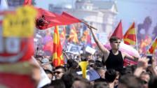 Audio «Mazedonien geht auf die Barrikaden» abspielen