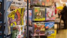 Audio «Das Satiremagazin «Charlie Hebdo» erscheint erstmals auf Deutsch» abspielen