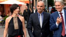 Audio «Aus Locarno: Kulturminister Alain Berset im Gespräch» abspielen