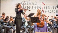 Audio «Menuhin Festival Gstaad: Hochkarätige Solistinnen im Dialog» abspielen