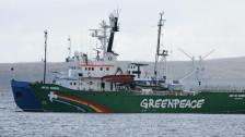 Audio «Die Aktivisten von Greenpeace melden sich zurück» abspielen
