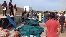 Audio «Mindestens 90 Bootsflüchtlinge vor Lampedusa ertrunken» abspielen