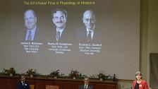 Audio «Medizin-Nobelpreis für Entschlüsselung von Zelltransporten» abspielen
