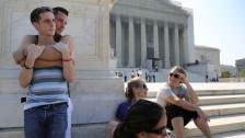 Audio «Oberstes US-Gericht kippt Gesetz gegen Homo-Ehe» abspielen