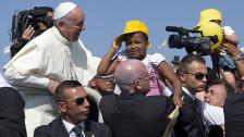 Audio «Papst beklagt Globalisierung der Gleichgültigkeit» abspielen