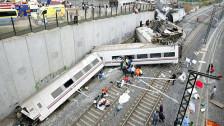 Audio «Mindestens 77 Tote und 140 Verletzte bei Zugsunglück in Spanien» abspielen