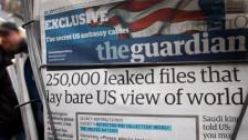 Audio «Der britische «Guardian» musste Snowdon-Dokumente vernichten» abspielen