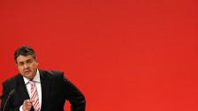 Audio «Gabriel führt die SPD in die Grosse Koalition» abspielen