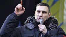 Audio «Ukraine: Die EU setzt auf Vitali Klitschko» abspielen