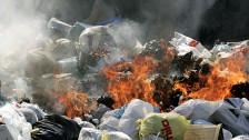 Audio «Militäreinsatz gegen illegale Abfallverbrennung» abspielen