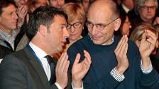 Audio «Italien vor einer Rochade: Geht Letta? Kommt Renzi?» abspielen