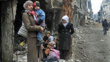Audio «Syrien: Belagert. Bedroht. Am Verhungern.» abspielen