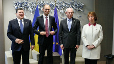 Audio «Keine klaren Beschlüsse am EU-Gipfel zur Ukraine» abspielen
