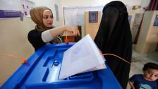 Audio «Zwischenfälle bei Wahlen in Bagdad» abspielen