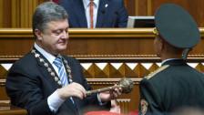 Audio «Poroschenko will die Ukraine in die EU führen» abspielen