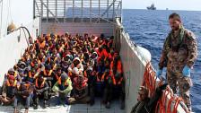 Audio «Flüchtlingsstrom übers Mittelmeer - kein Ende absehbar» abspielen