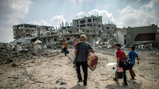 Audio «Waren die israelischen Angriffe in Gaza verhältnismässig?» abspielen