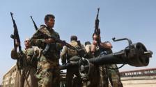 Audio «Merkel prüft Waffenlieferungen in den Irak» abspielen