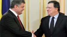 Audio «Die Ukraine rückt näher zu Europa» abspielen