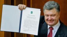 Audio «Ukraine: EU-Annäherung und Autonomie für den Osten» abspielen