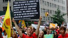 Audio «Vor dem UN-Klimagipfel: Demonstranten fordern Taten statt Worte» abspielen