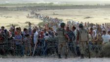 Audio «Zehntausende Kurden fliehen von Syrien in die Türkei» abspielen