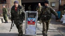 Audio «Pro-russische Separatisten halten Wahlen ab» abspielen