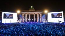 Audio «25 Jahre Mauerfall: Jubel, Erinnerung und Trauer» abspielen