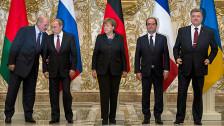 Audio «Einigung über Waffenruhe in der Ostukraine» abspielen
