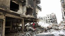 Audio «Humanitäre Katastrophe in syrischem Flüchtlingslager Jarmuk» abspielen