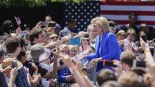Audio «Hillary Clinton eröffnet Wahlkampf» abspielen