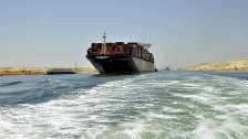 Audio «Ägypten feiert den neuen Suezkanal» abspielen
