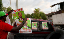 Audio «Haiti wählt unter schwierigen Bedingungen» abspielen
